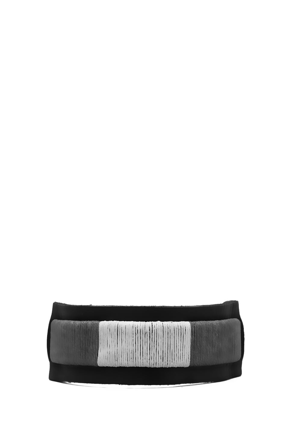 griffin Colton Cuff in Black/Grey