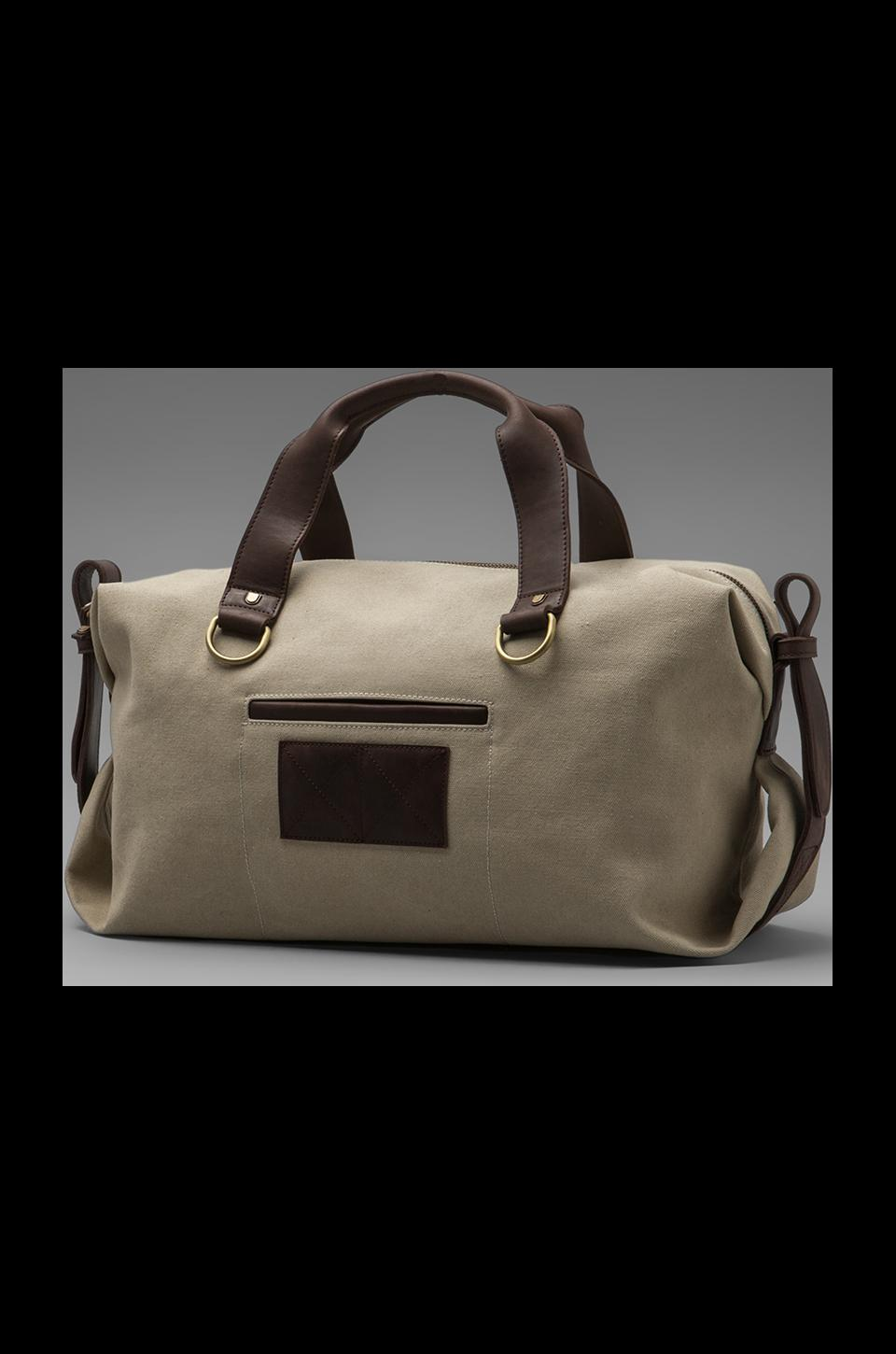 griffin Walker Day Bag in Army/ Camel