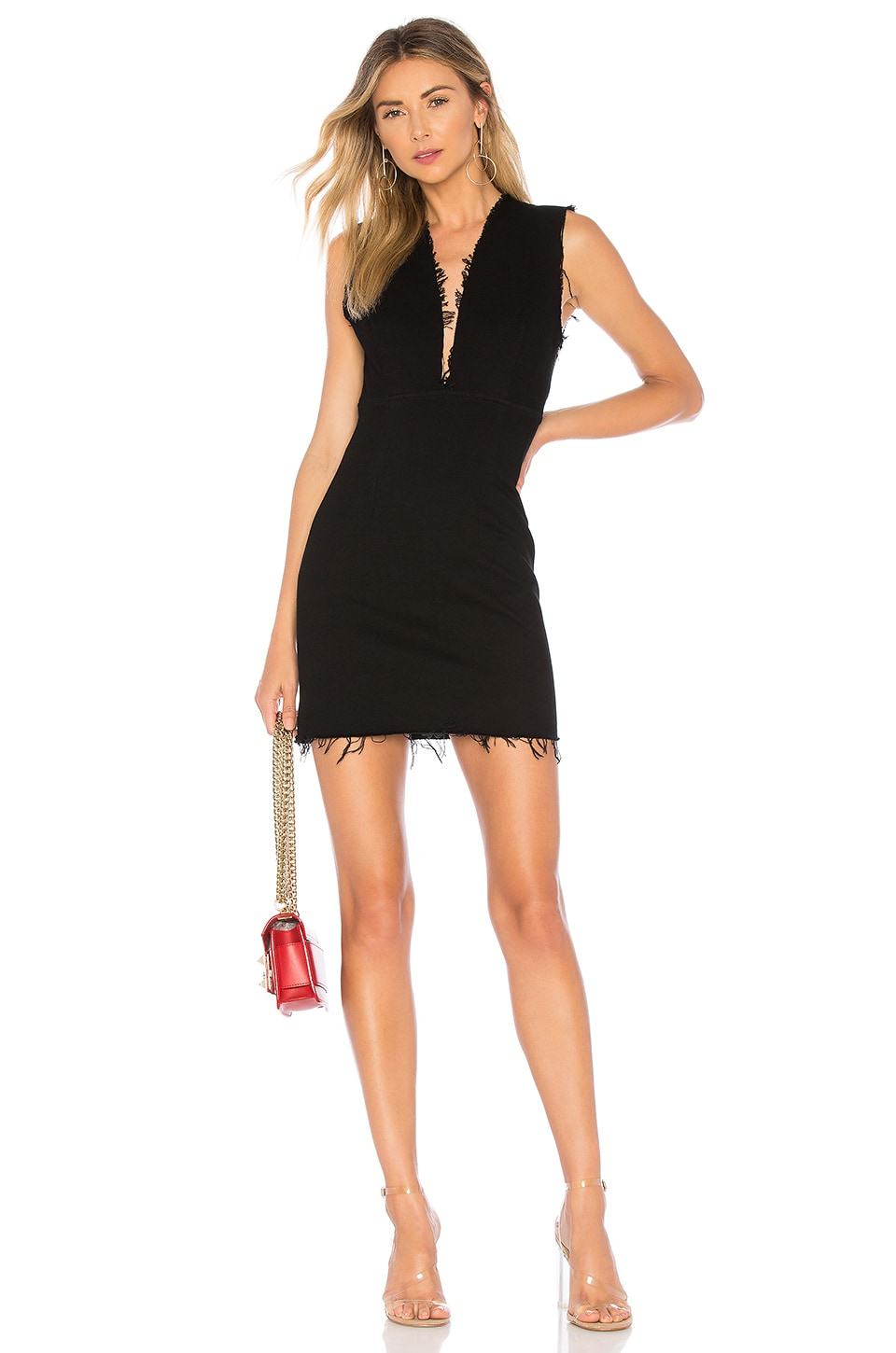 GRLFRND Estelle Dress in Night Moves