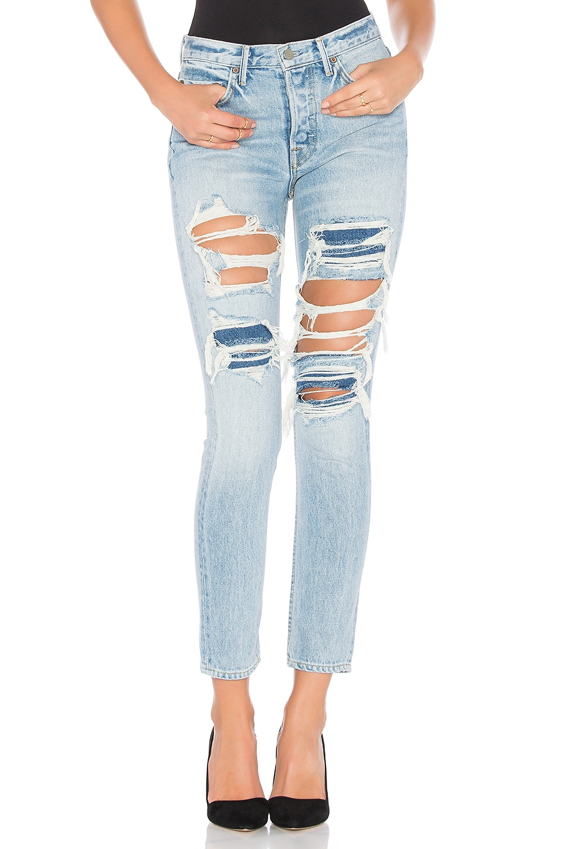 GRLFRND Karolina High-Rise Skinny Jean in E Street