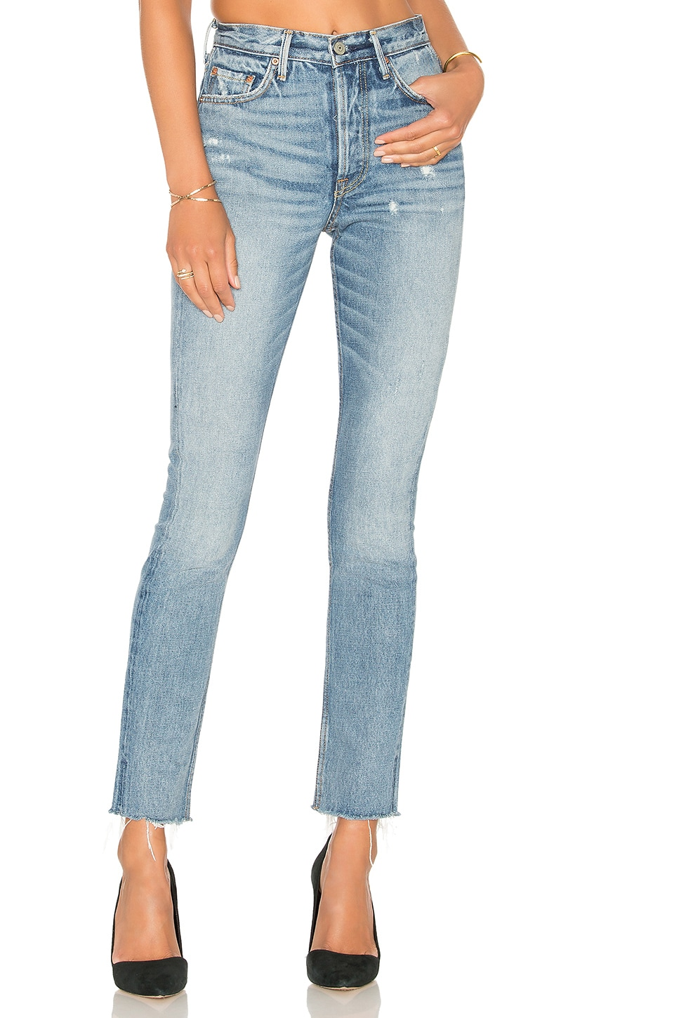 GRLFRND x REVOLVE Karolina High-Rise Skinny Jean in Without Love