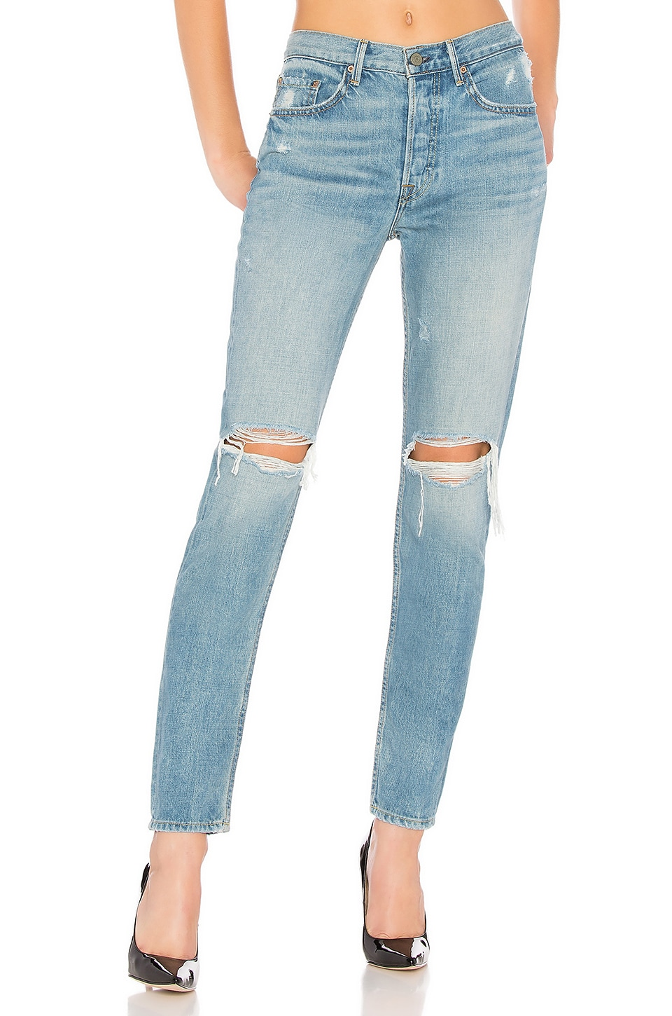 Karolina High-Rise Skinny Jean. - size 26 (also in 24,25,28,29,30,31,32) GRLFRND