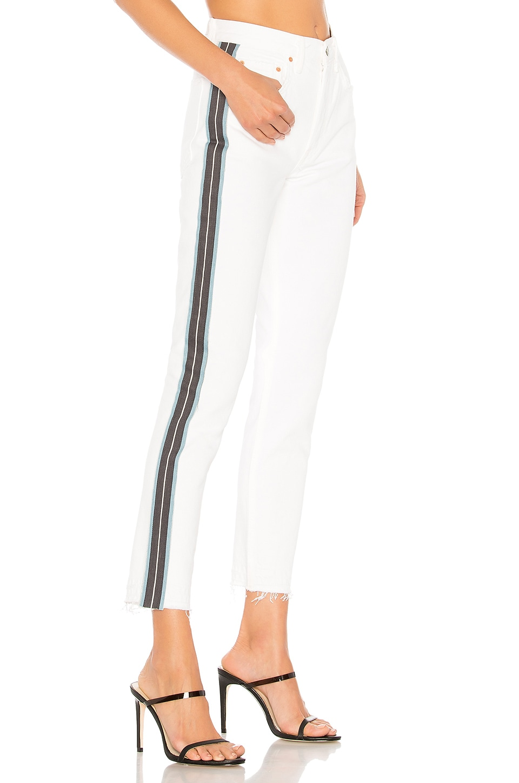 GRLFRND Karolina High-Rise Crop Jean in Ocean Eyes