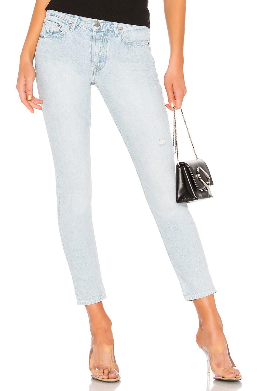 GRLFRND Yasmin Mid-Rise Regular Jean in Fame