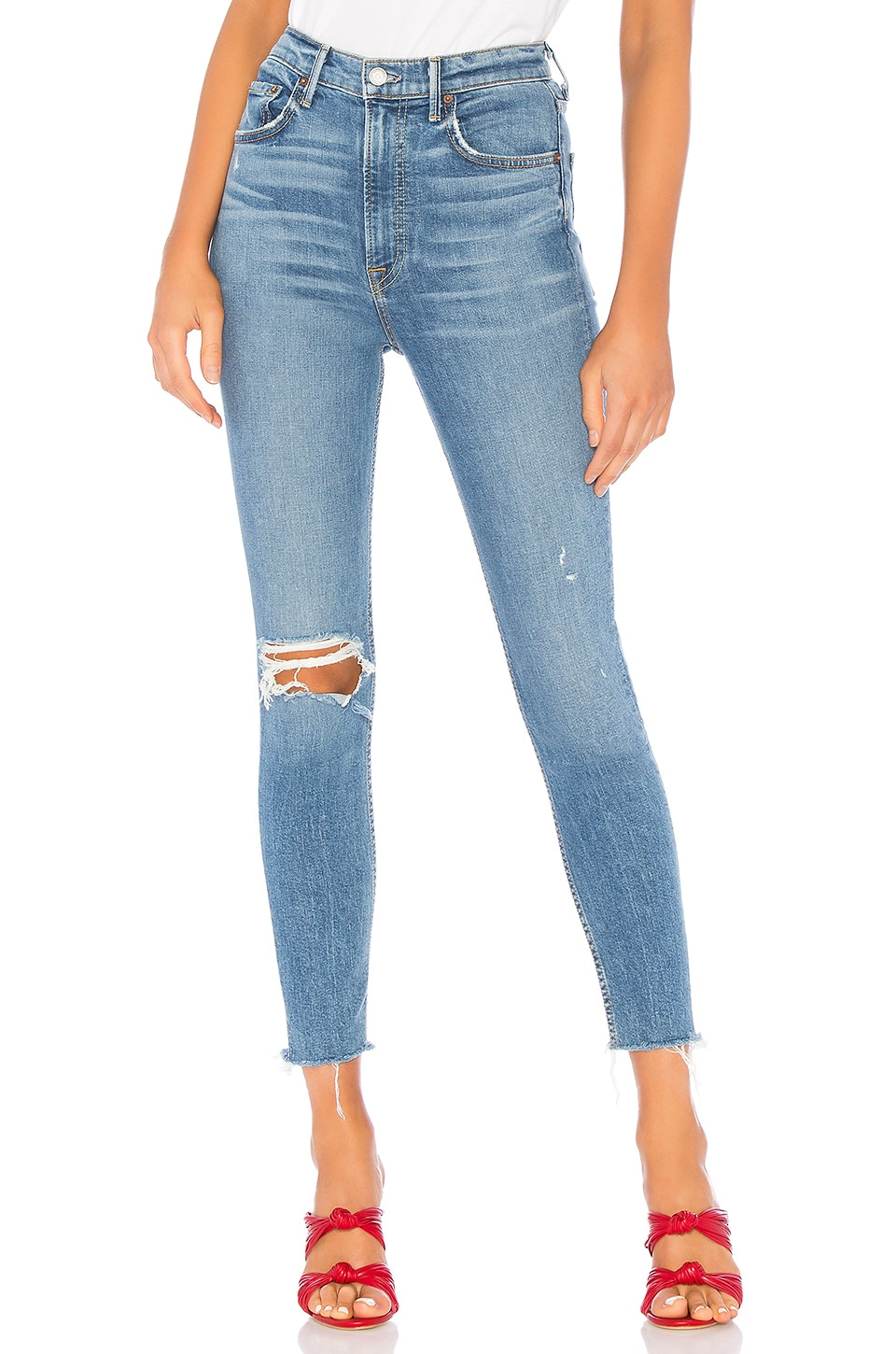 GRLFRND Kendall Super Stretch High-Rise Skinny Jean in Amelia