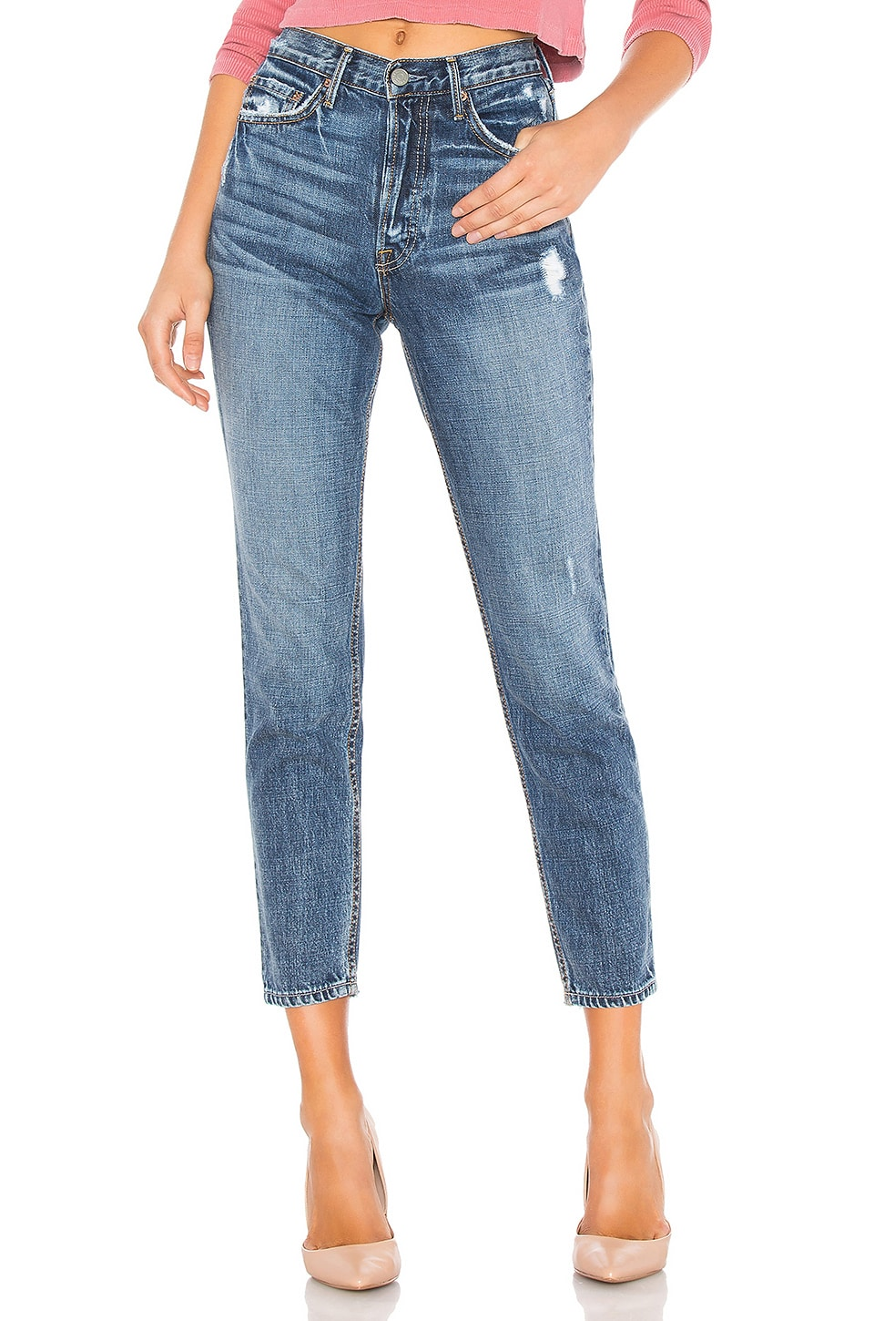 GRLFRND Karolina High-Rise Skinny Jean in Told You So