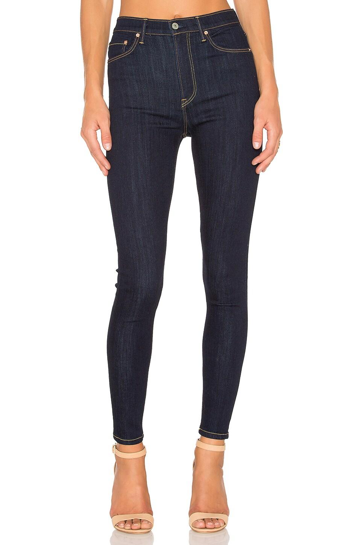 GRLFRND Kendall Super Stretch High-Rise Skinny Jean in Blue Bayou