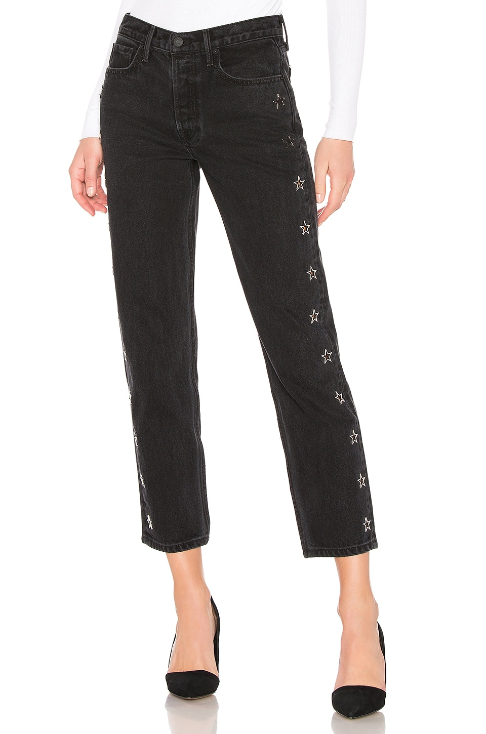 GRLFRND Helena High-Rise Skinny in Stars Above