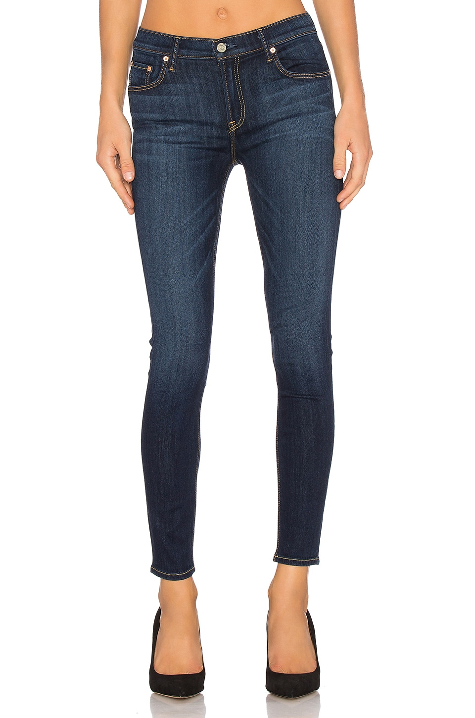 GRLFRND Candice Mid-Rise Skinny Jean in Anticipation
