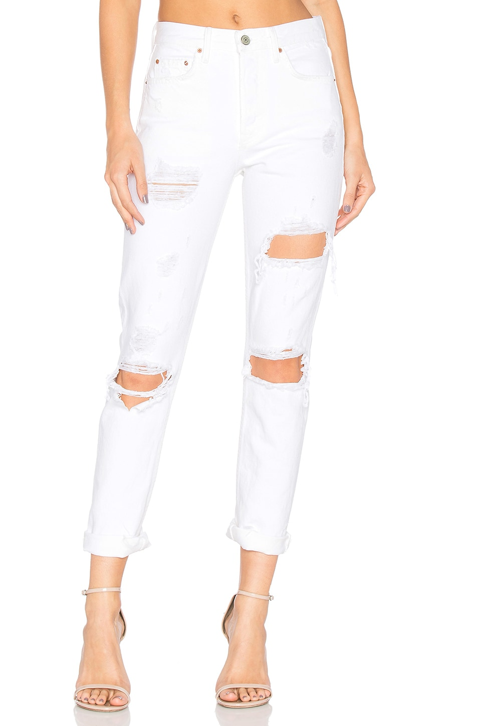 GRLFRND Karolina High-Rise Skinny Jean in You Know I'm No Good