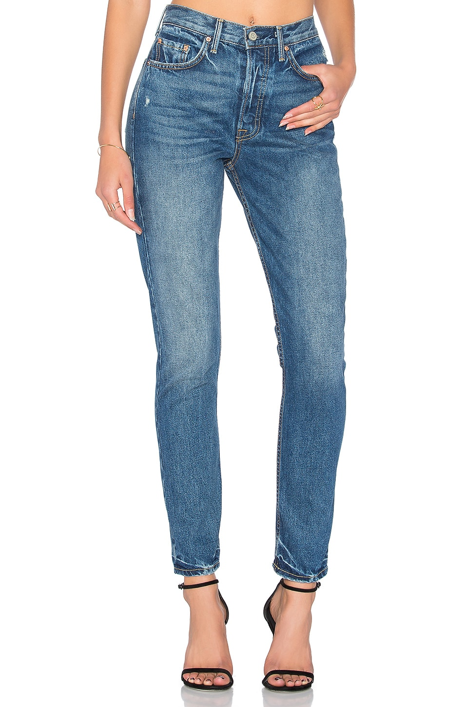 GRLFRND Karolina High-Rise Skinny Jean in Close to You