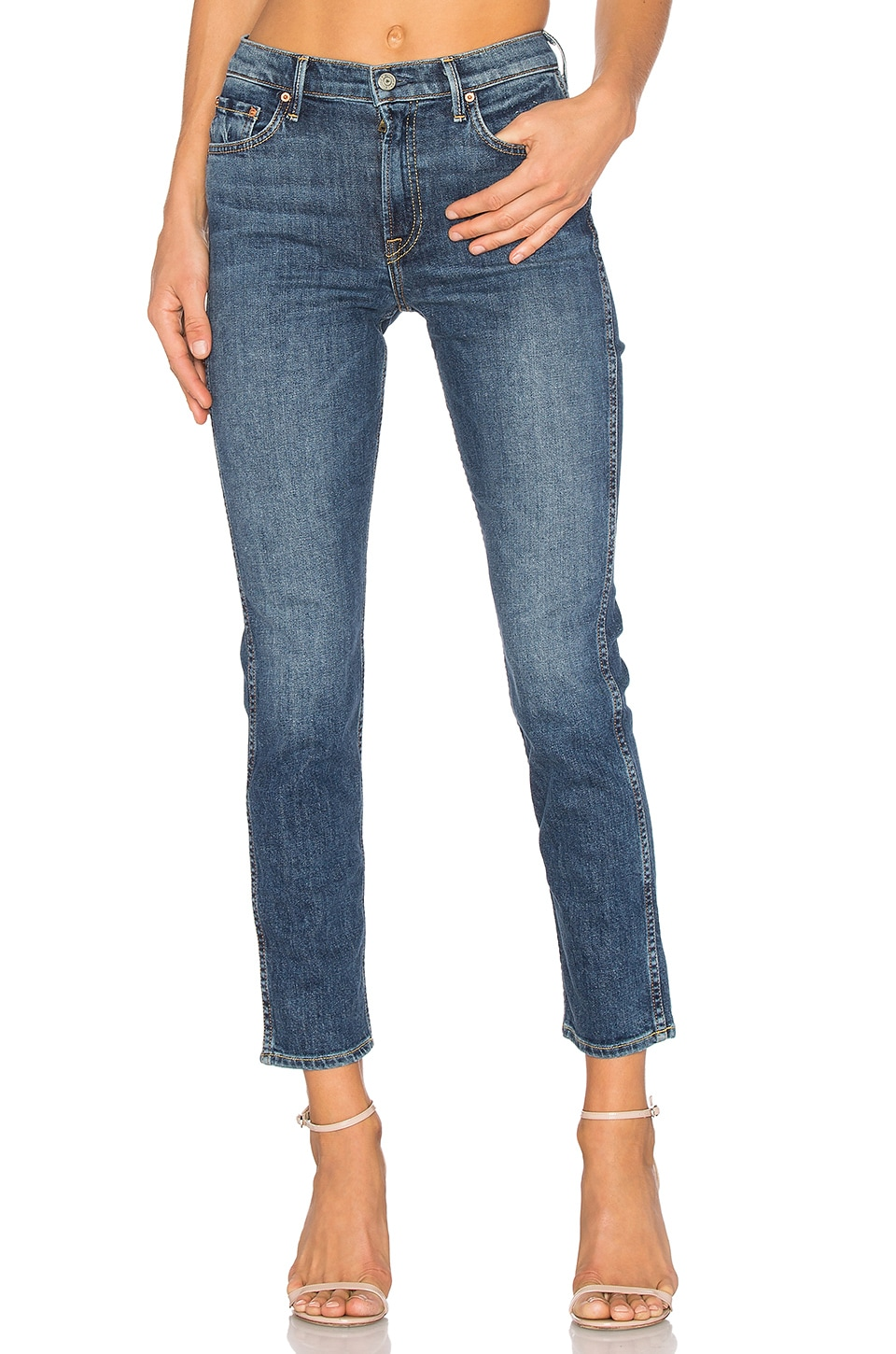 GRLFRND Naomi High-Rise Stretch Jean in American Pie