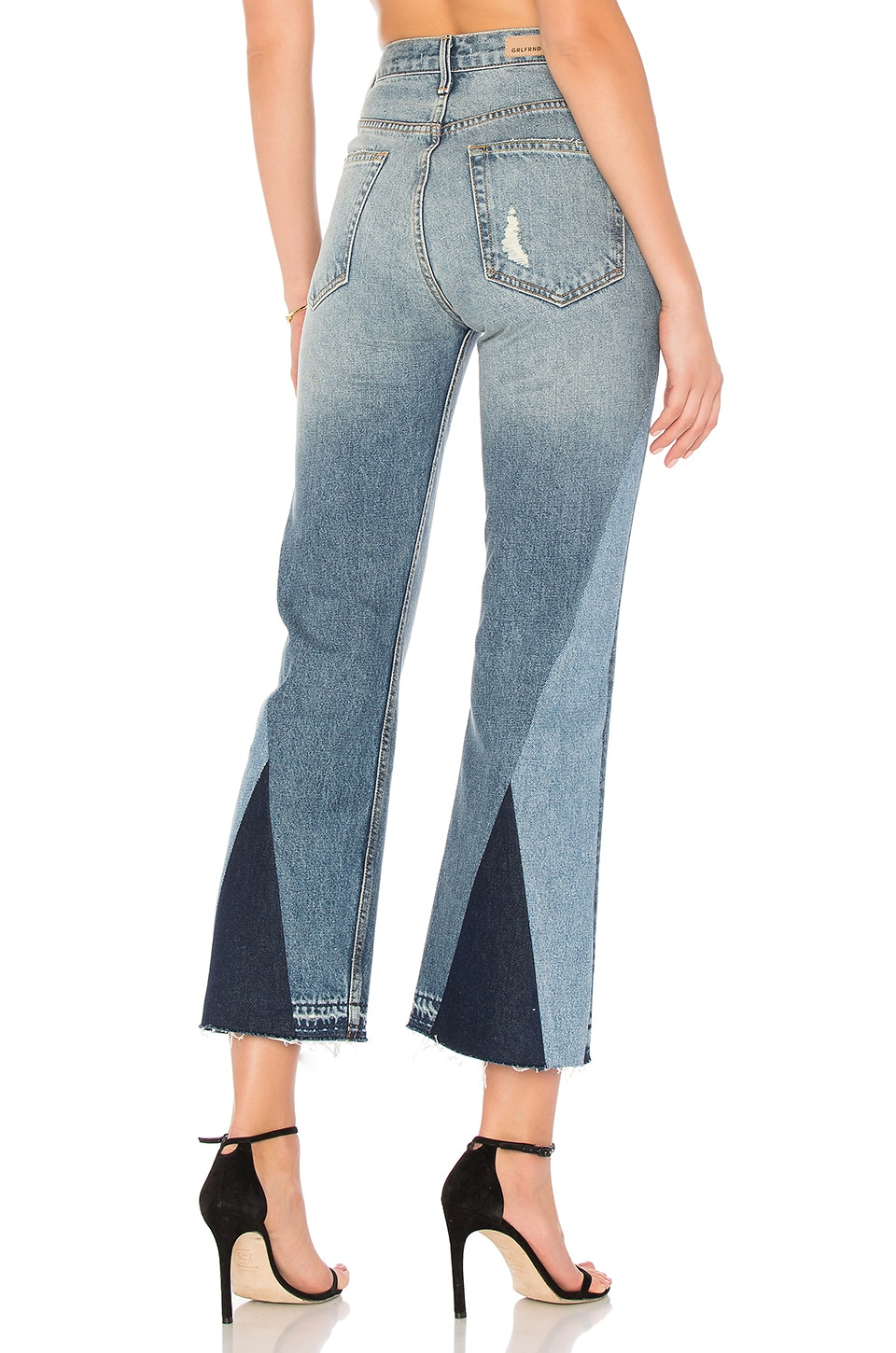 x REVOLVE Linda Pop Crop Jean by Grlfrnd