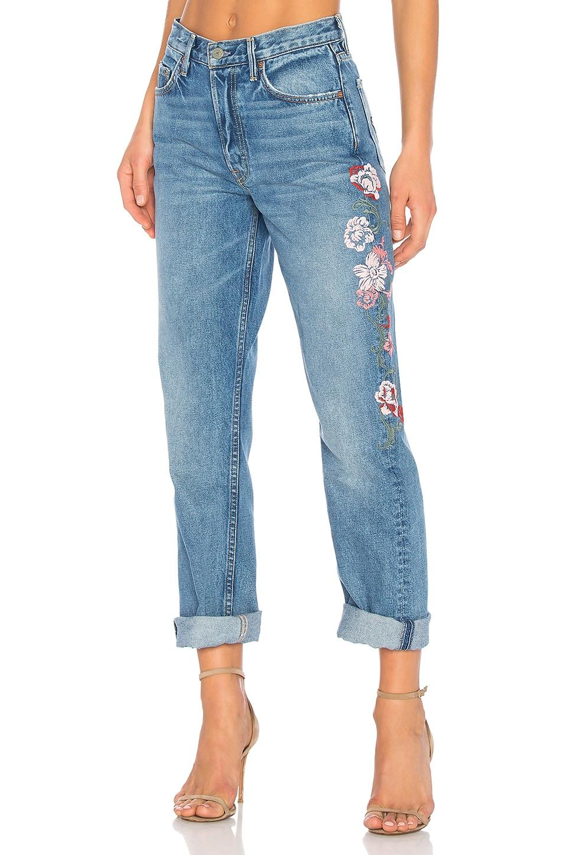 x REVOLVE Helena High-Rise Straight Crop Jean