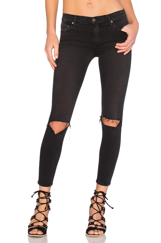 GRLFRND Candice Mid-Rise Super Stretch Skinny Jean in Love Hangover