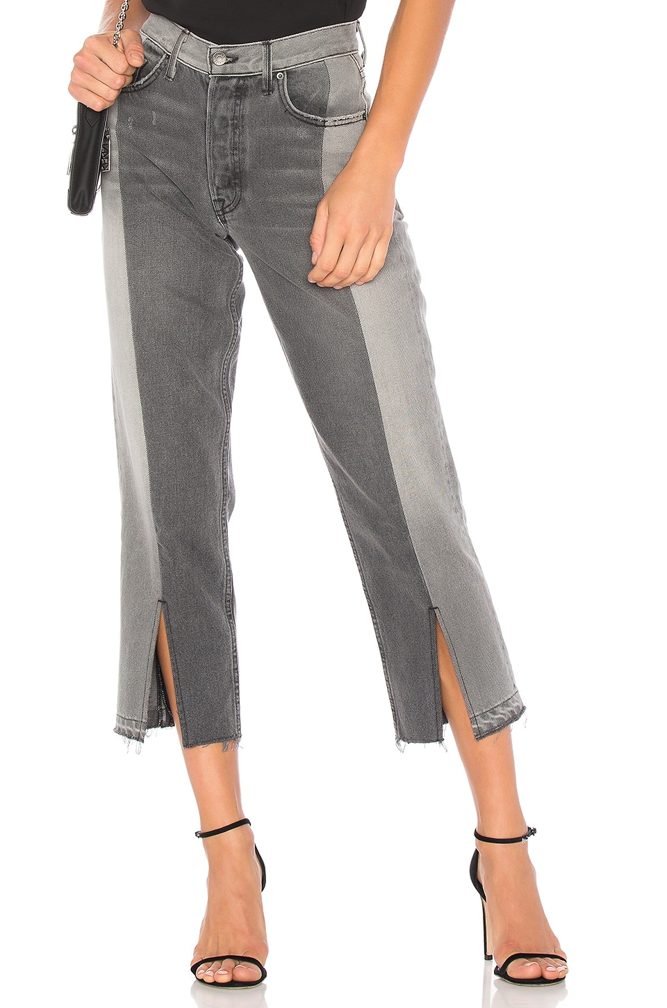 x REVOLVE Helena High-Rise Straight Crop Jean by Grlfrnd
