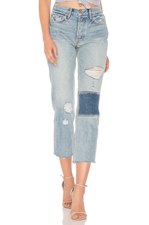 GRLFRND Helena High-Rise Straight Jean in Morrison