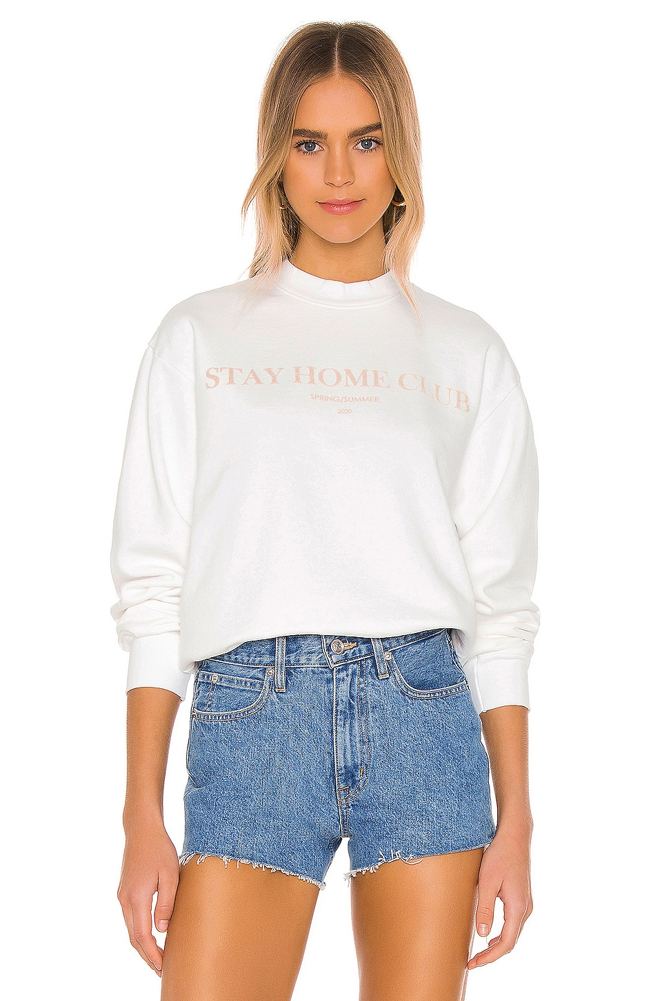 Stay Home Club Sweatshirt             GRLFRND                                                                                                       CA$ 193.79 2
