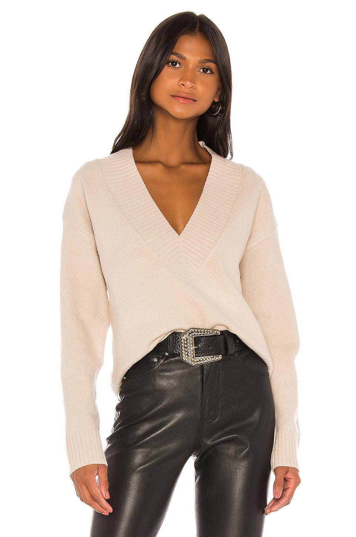 GRLFRND Olivia Tunic Sweater in Beige