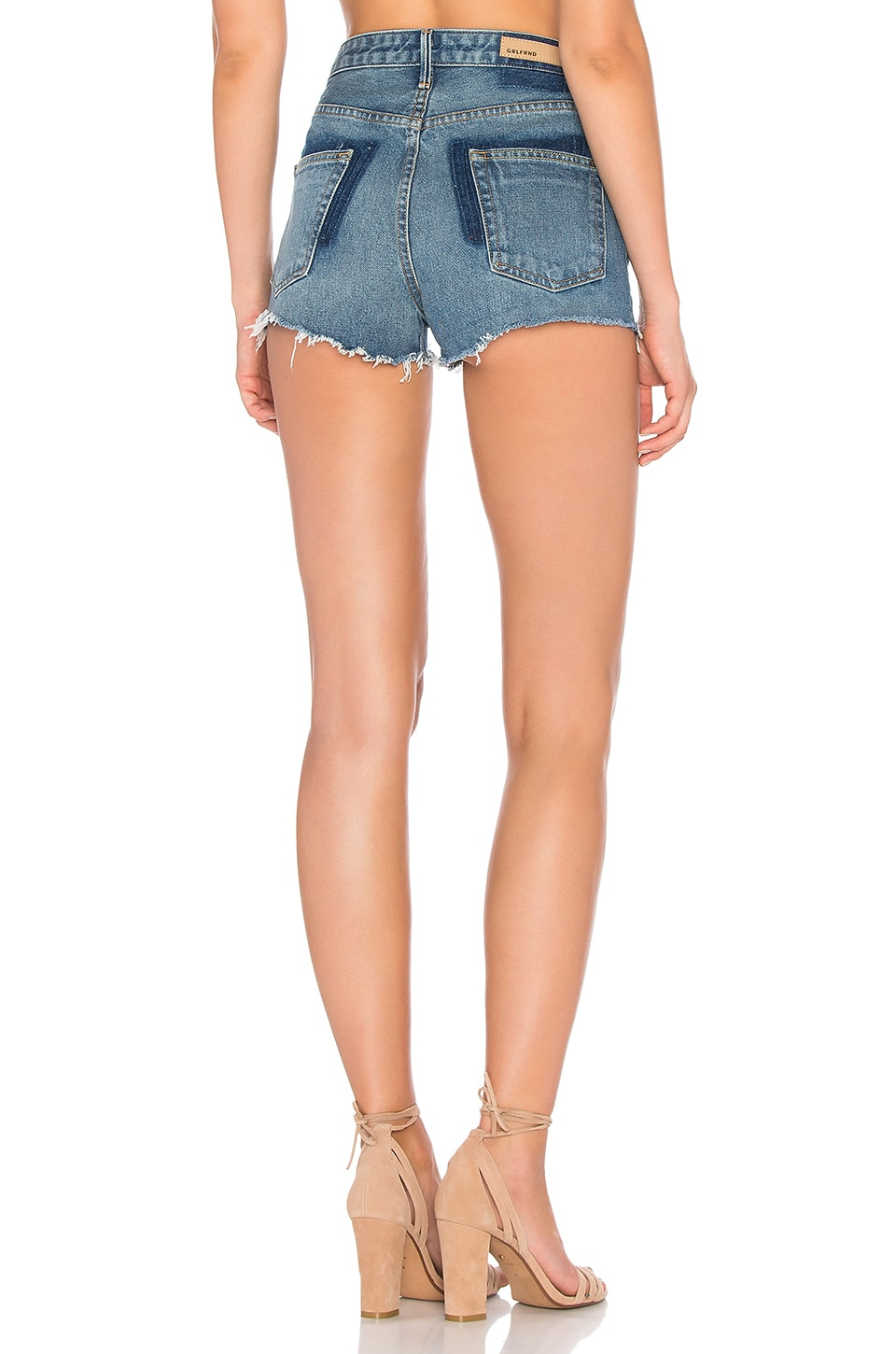 Cindy High Rise-Cut Off Short. - size 28 (also in 23,24,25,26,27,29,30,31) GRLFRND