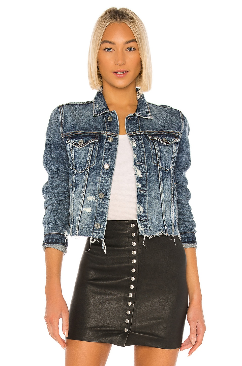 GRLFRND Cara Jacket in Speak To Me