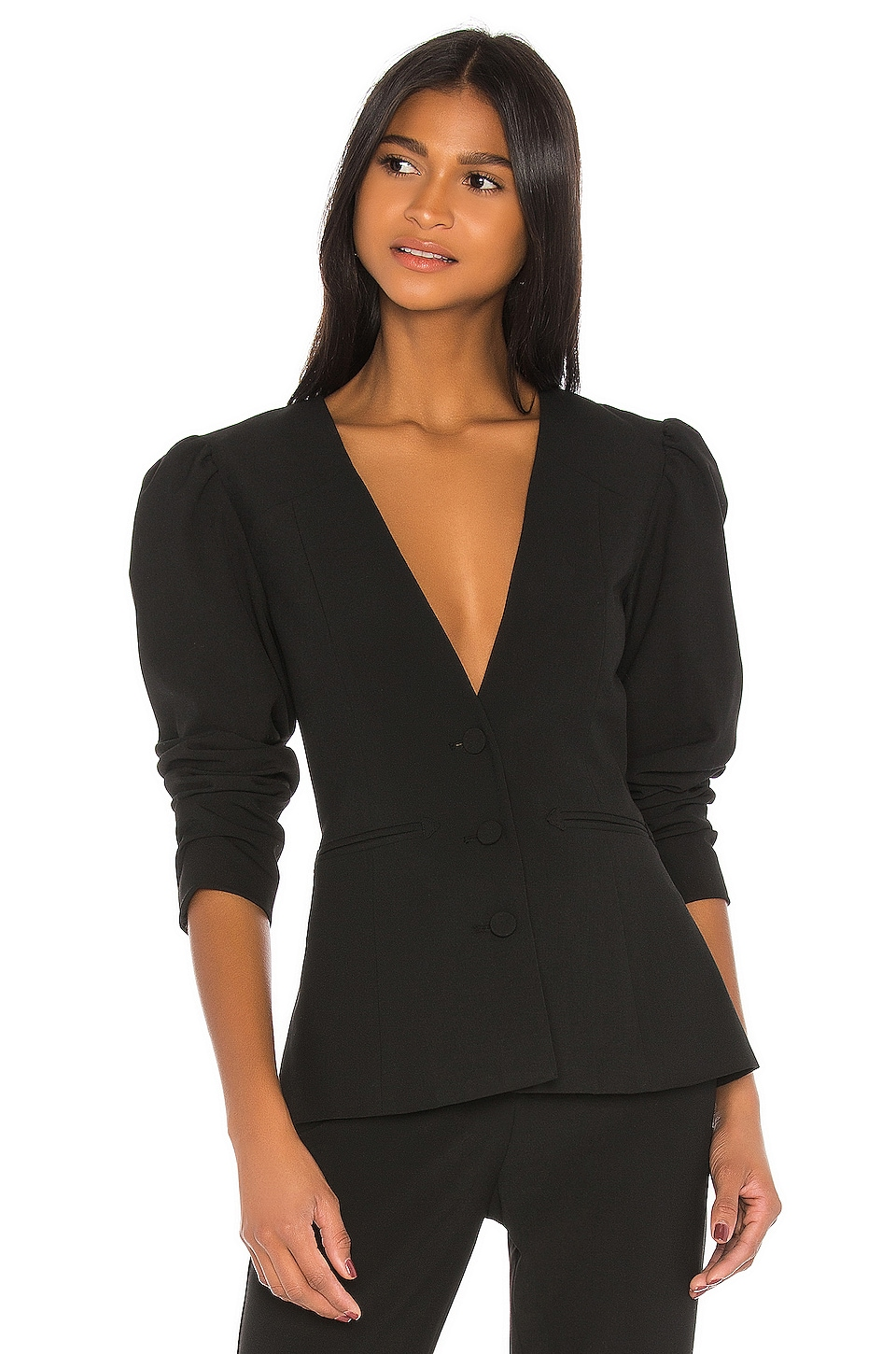 GRLFRND Trysta Blazer in Black