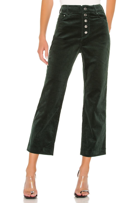 GRLFRND Bobby Corduroy Pants in Evergreen