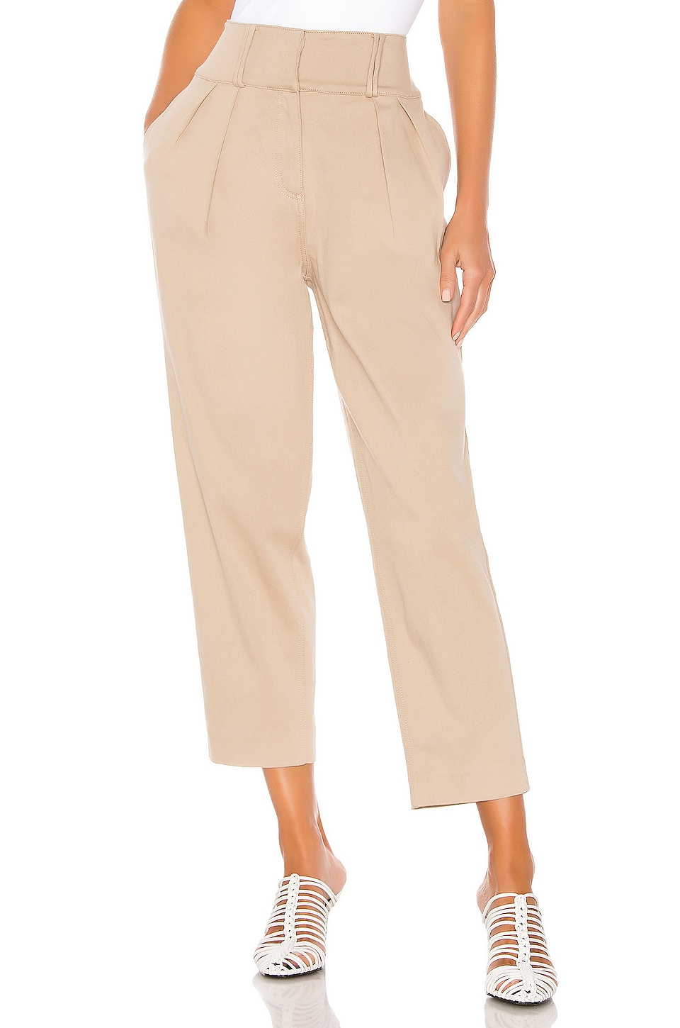 GRLFRND Jorgen Trousers in Khaki