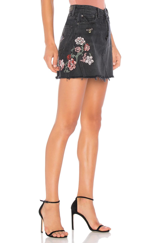 GRLFRND x REVOLVE Eva A-Frame Gusset Skirt in Pixie