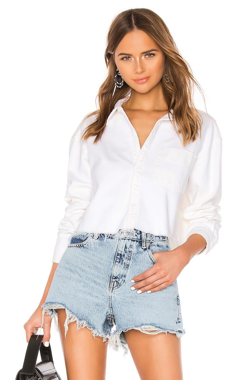 GRLFRND Christy Shirt in Waxen Moon