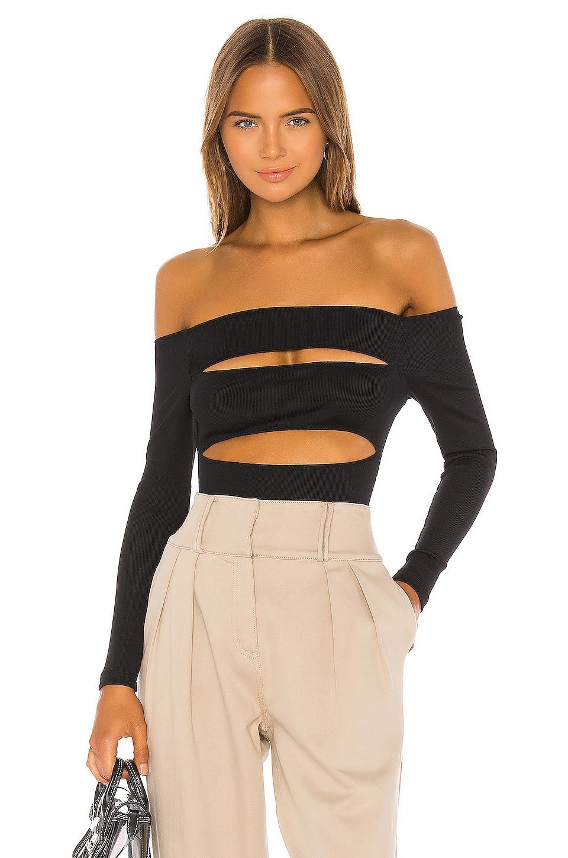 GRLFRND Fidanzata Bodysuit in Black