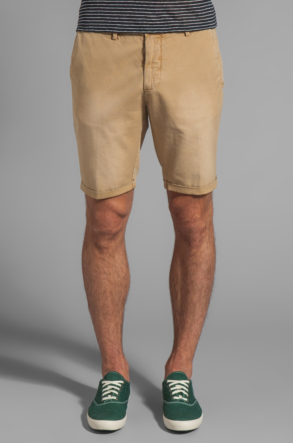 GANT Rugger Canvas Short in Biscuit