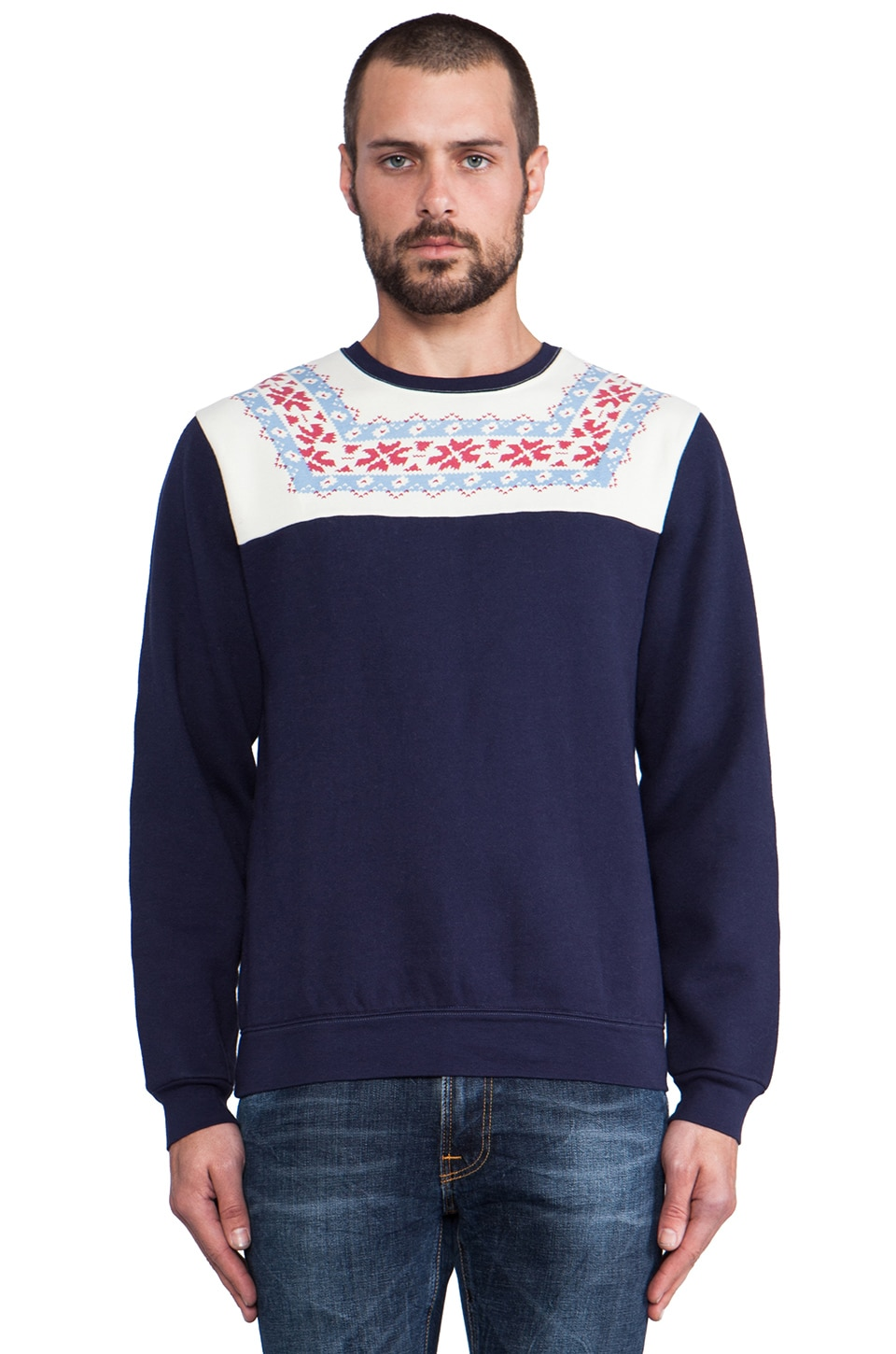 GANT Rugger Bloggers Delight 2.0 Sweater in Navy