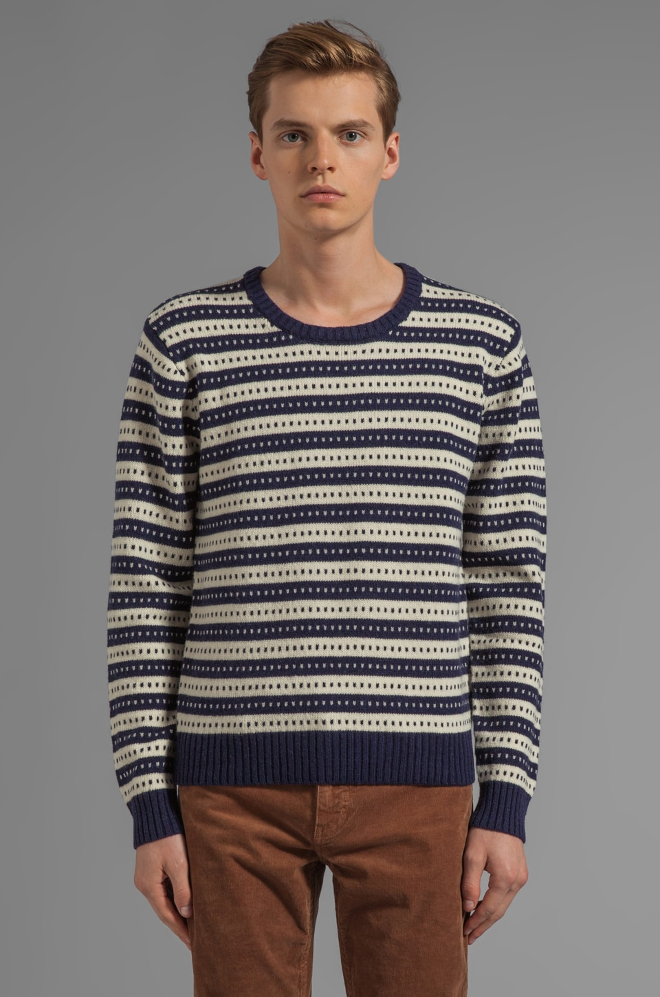 GANT Rugger Stripe Jacquard Sweater in Multi