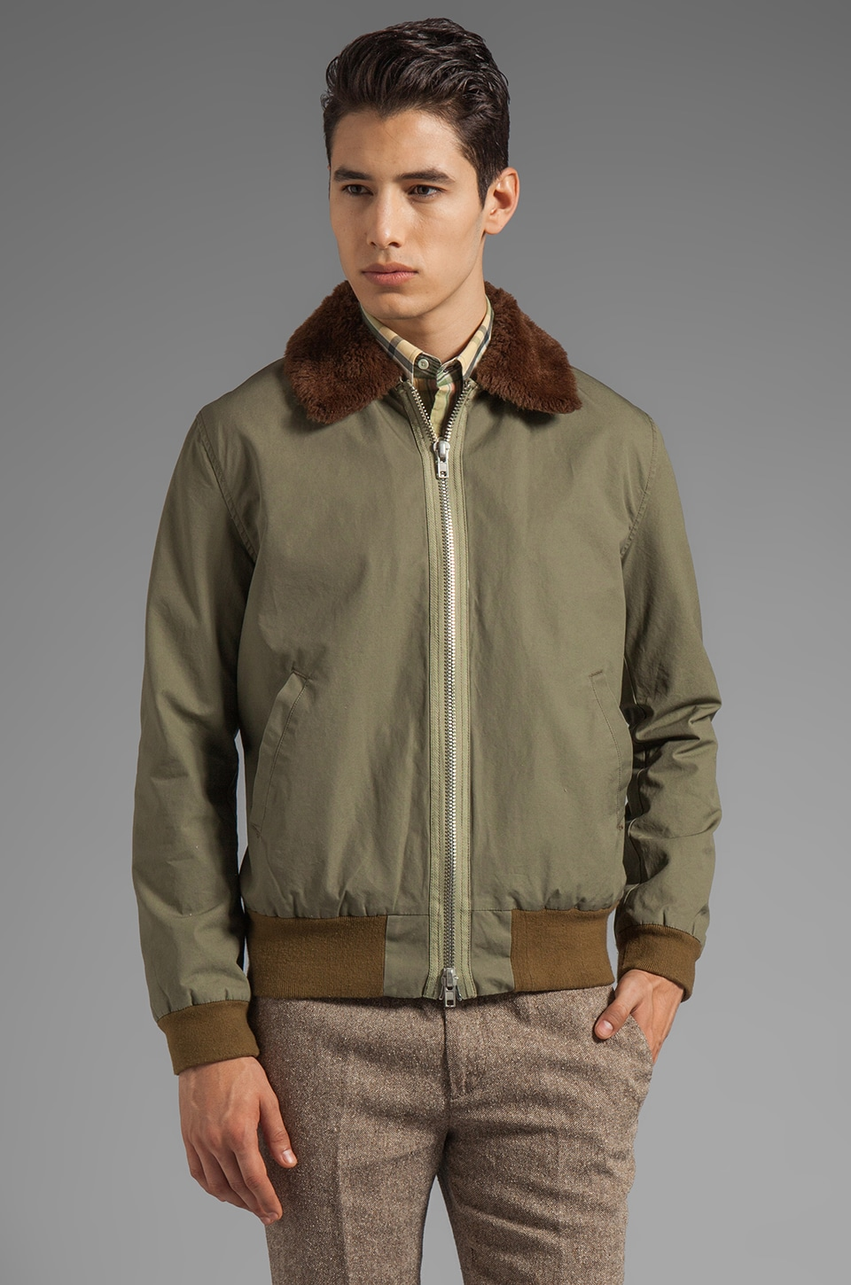 GANT Rugger The Rum Runner Jacket in Field Green