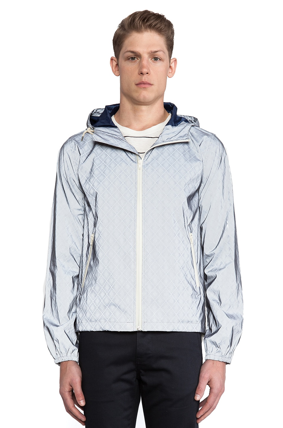 GANT Rugger Shine Bright Like A Diamond Jacket in Grey