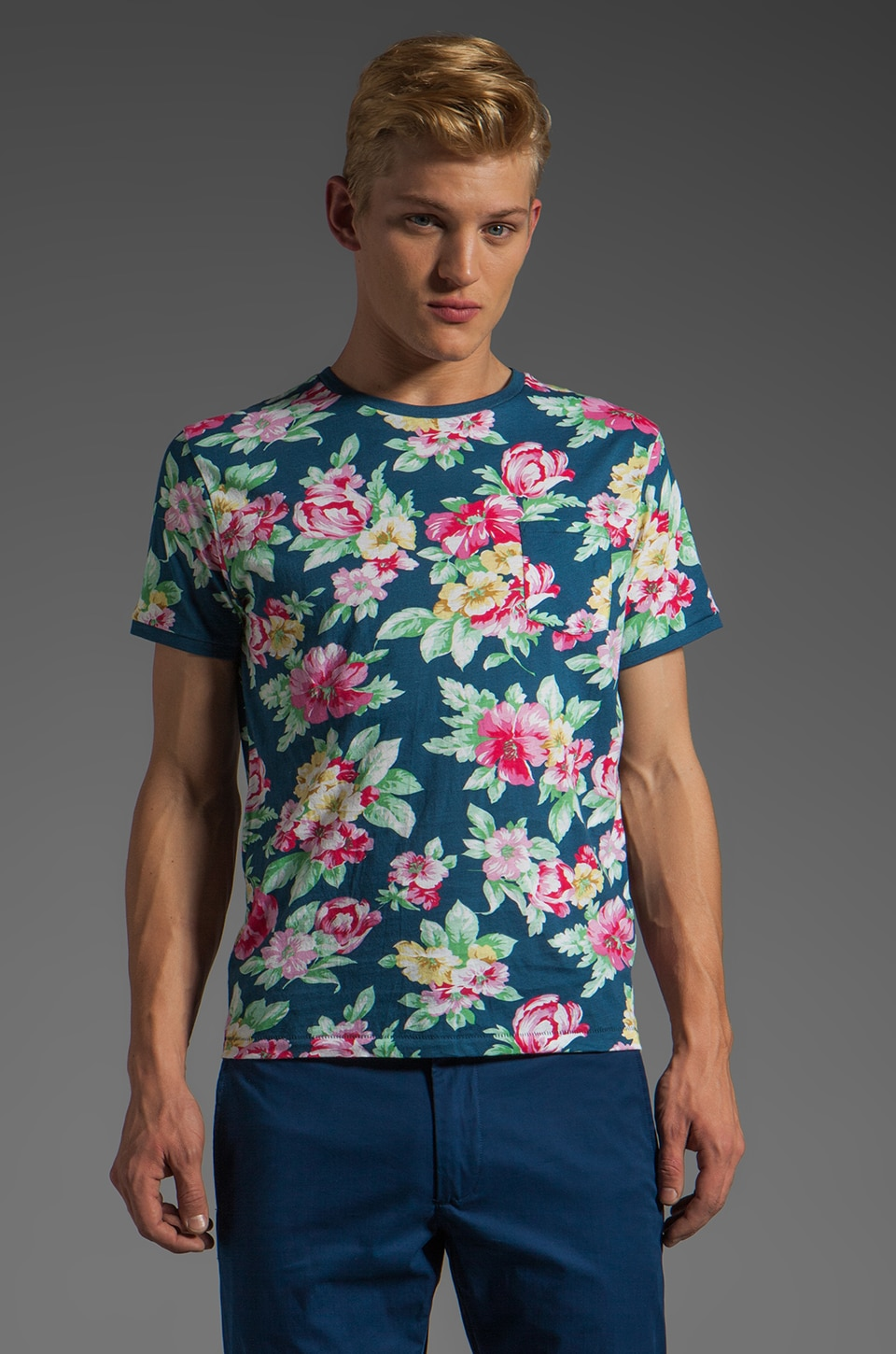 GANT Rugger Flower Tee in Multi