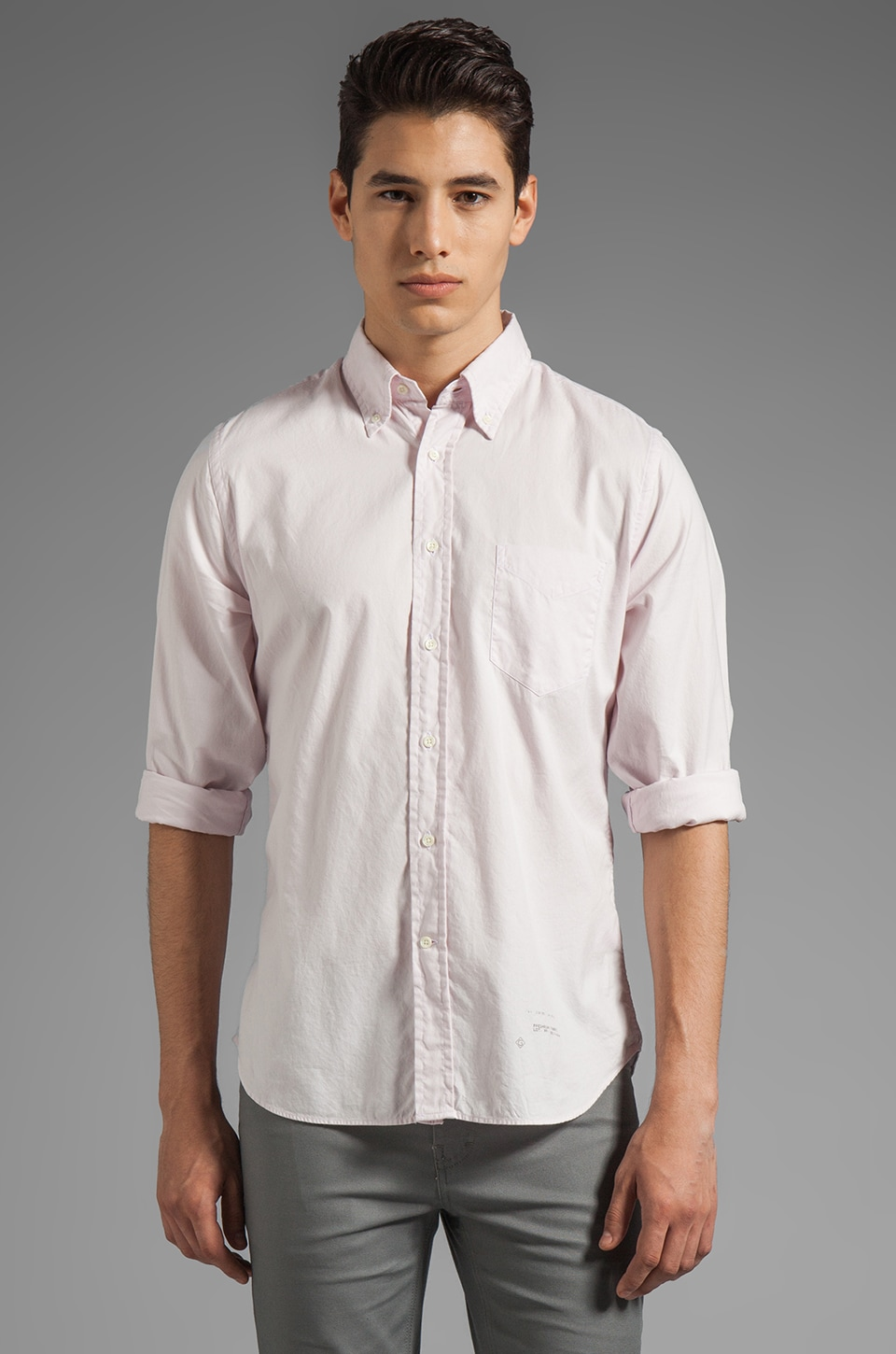 GANT Rugger Dreamy Oxford in Pink