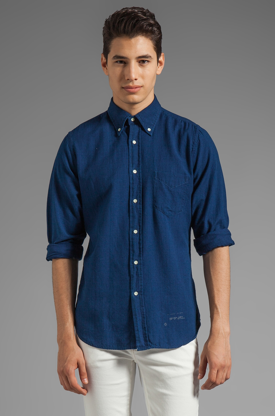 GANT Rugger Oxford HOBD in Indigo