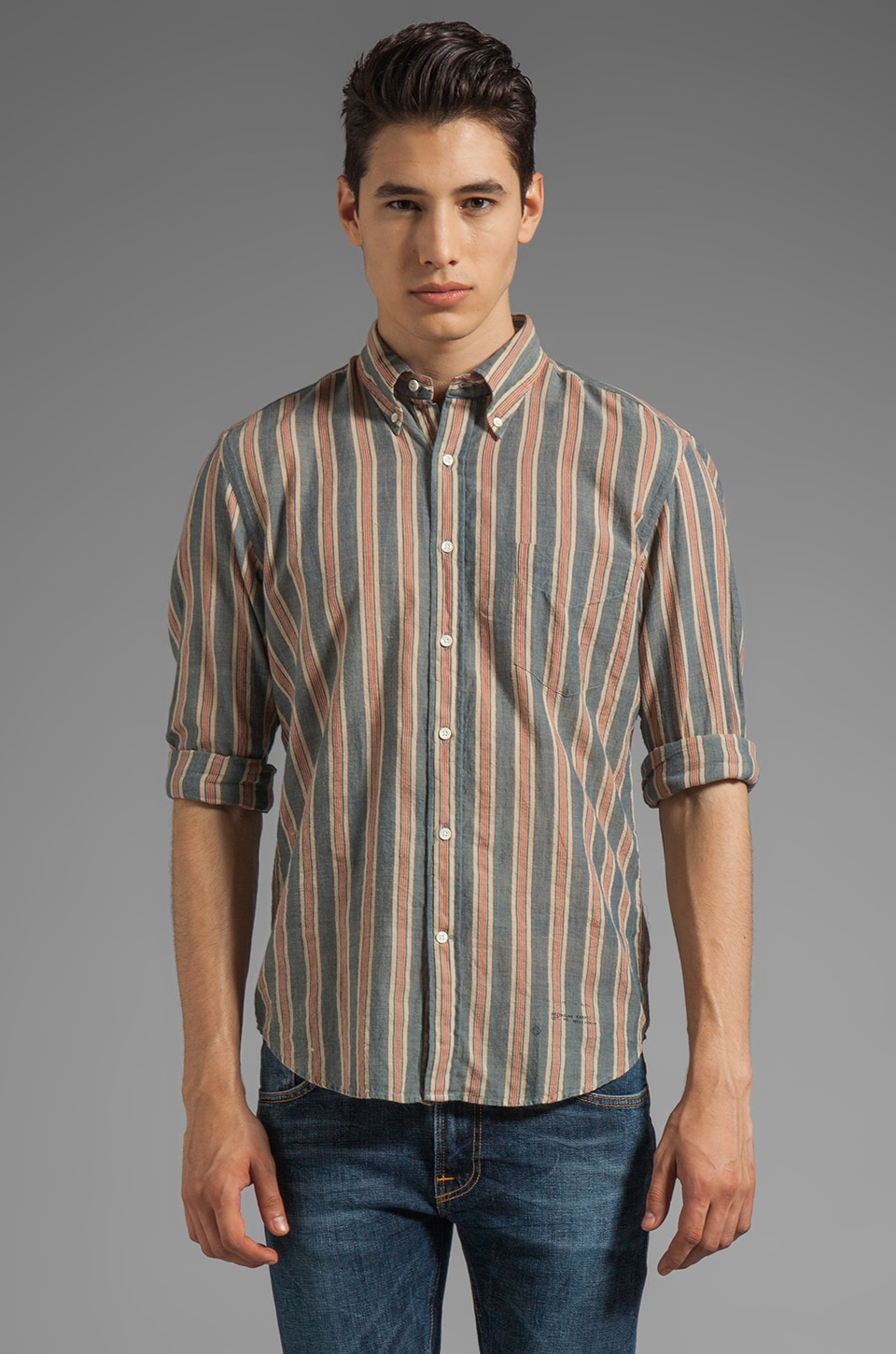 GANT Rugger Vegetable Dyed Madras EZ OBD