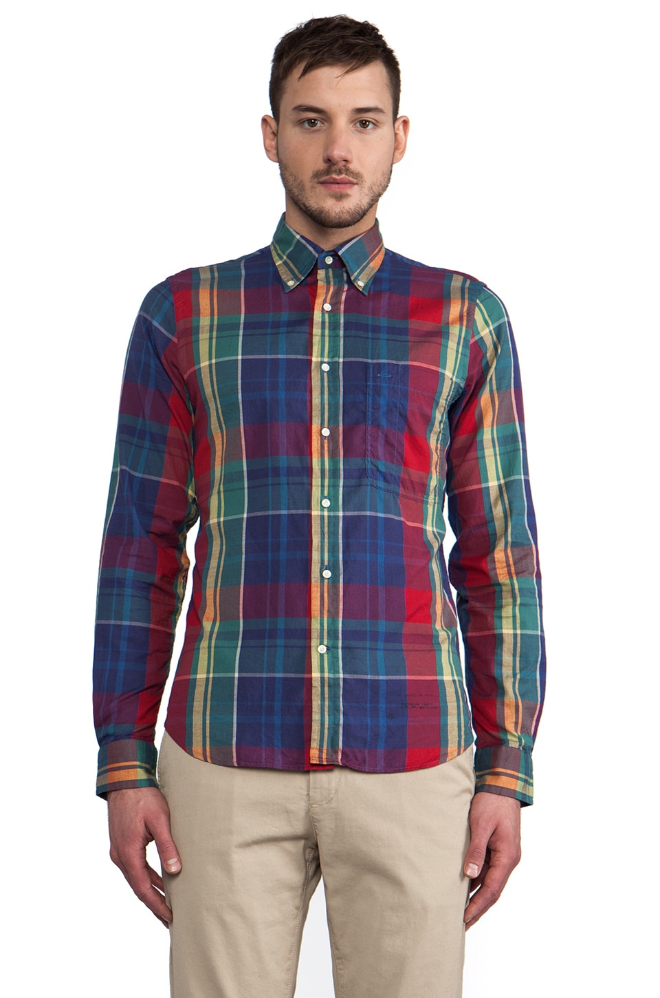 GANT Rugger Windblown Oxford in Multi