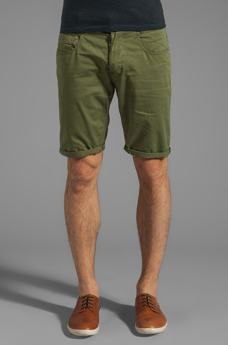 G-Star New Radar Tapered 1/2 Short in Sage