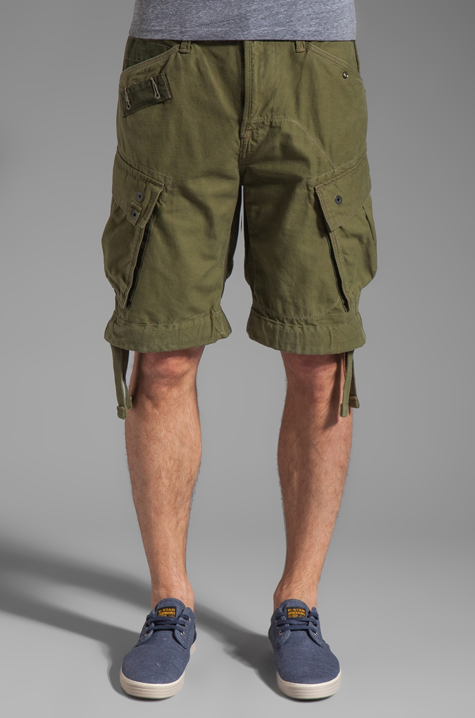 G-Star Rovic Loose 1/2 Short in Sage