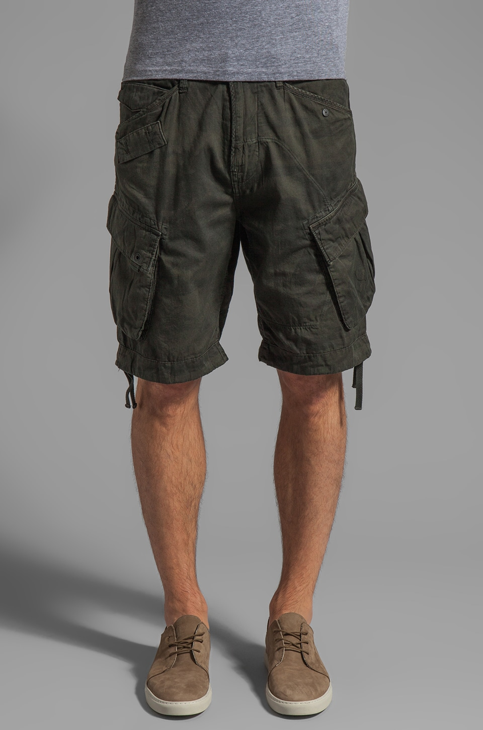 G-Star Palm Rovic Loose Short in Combat