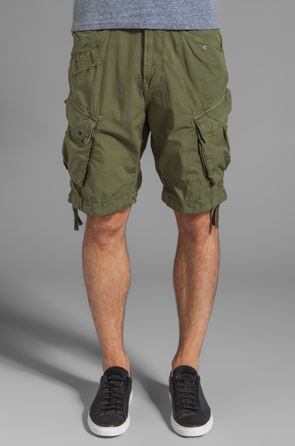 G-Star Rovic Loose Cargo Short in Sage
