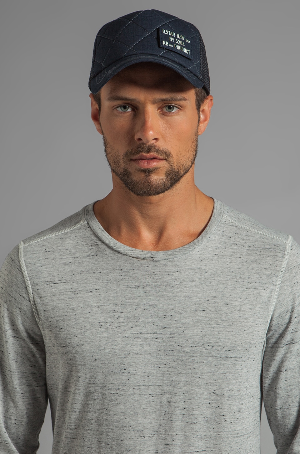 G-Star Harper Trucker Hat in Japan Blue