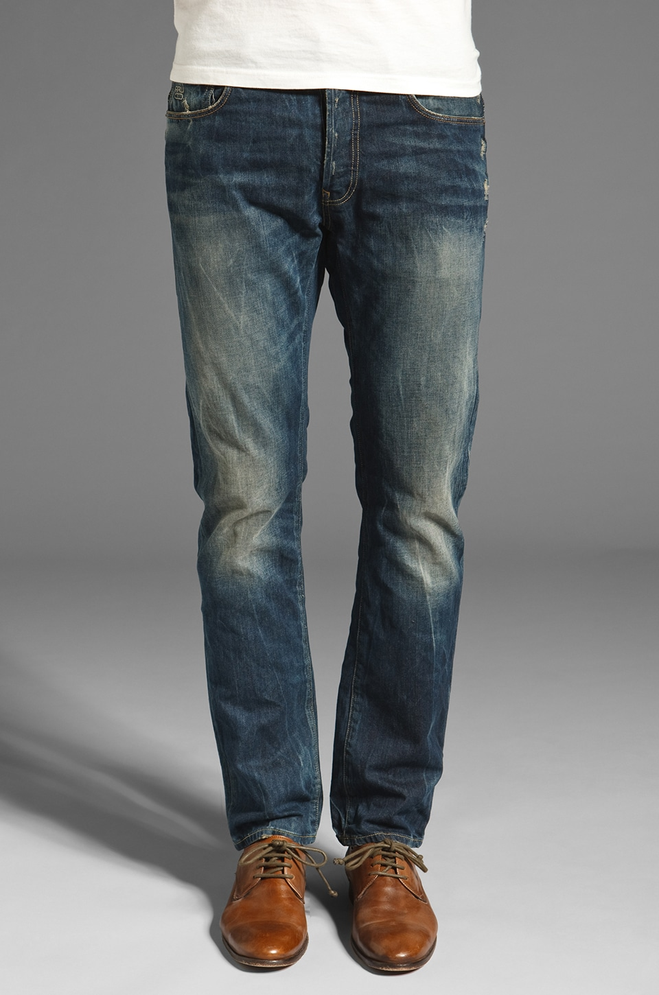 G-Star 3301 Slim in Arizona Denim Rugby Wash