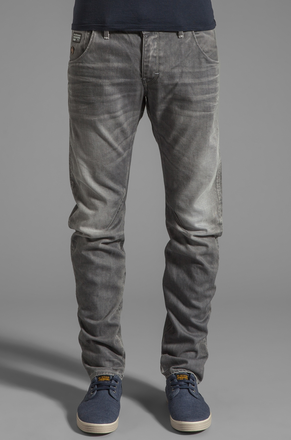G-Star Arc 3D Slim in Dust Denim Light Aged