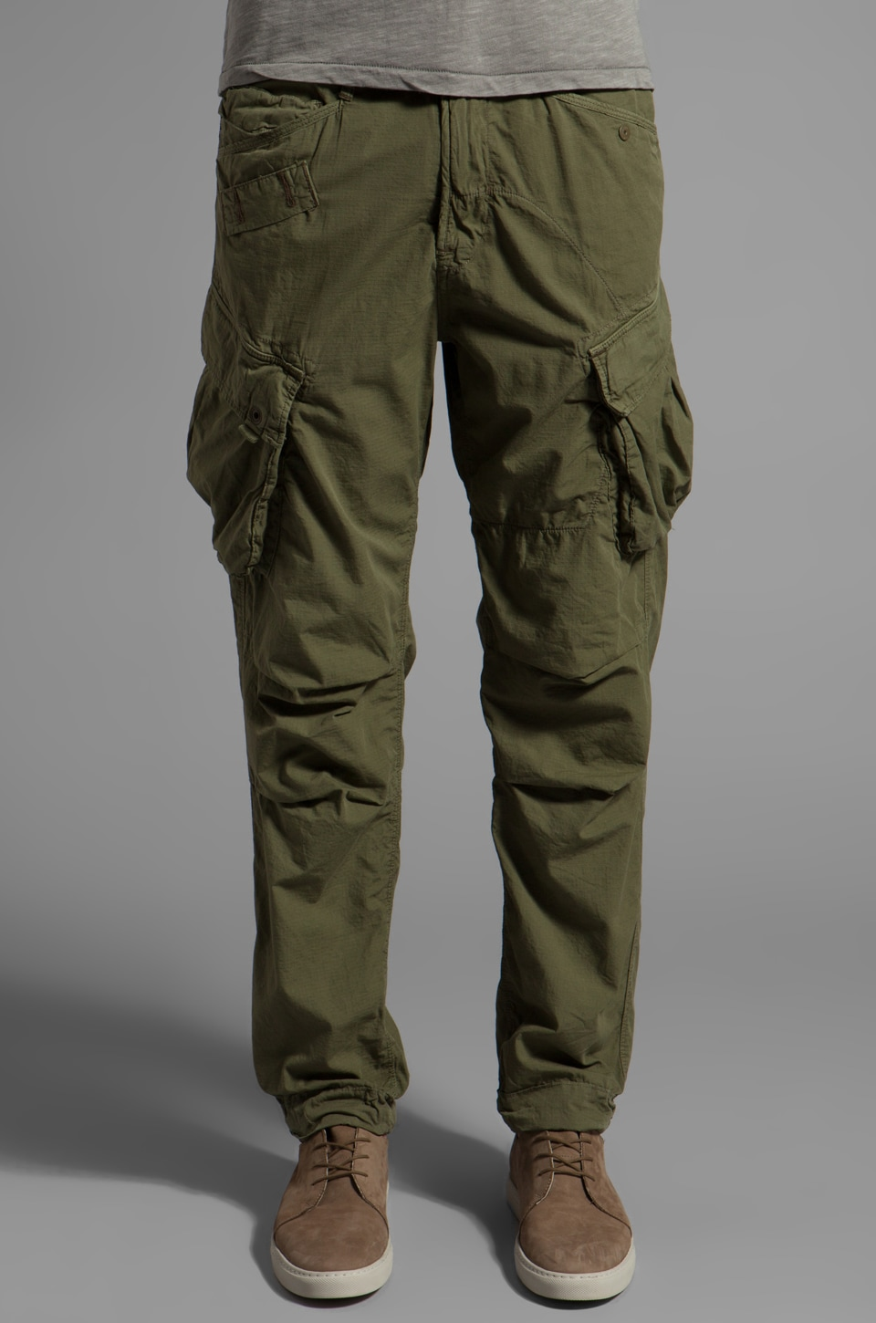 G-Star Rovic Tapered Pant in Sage