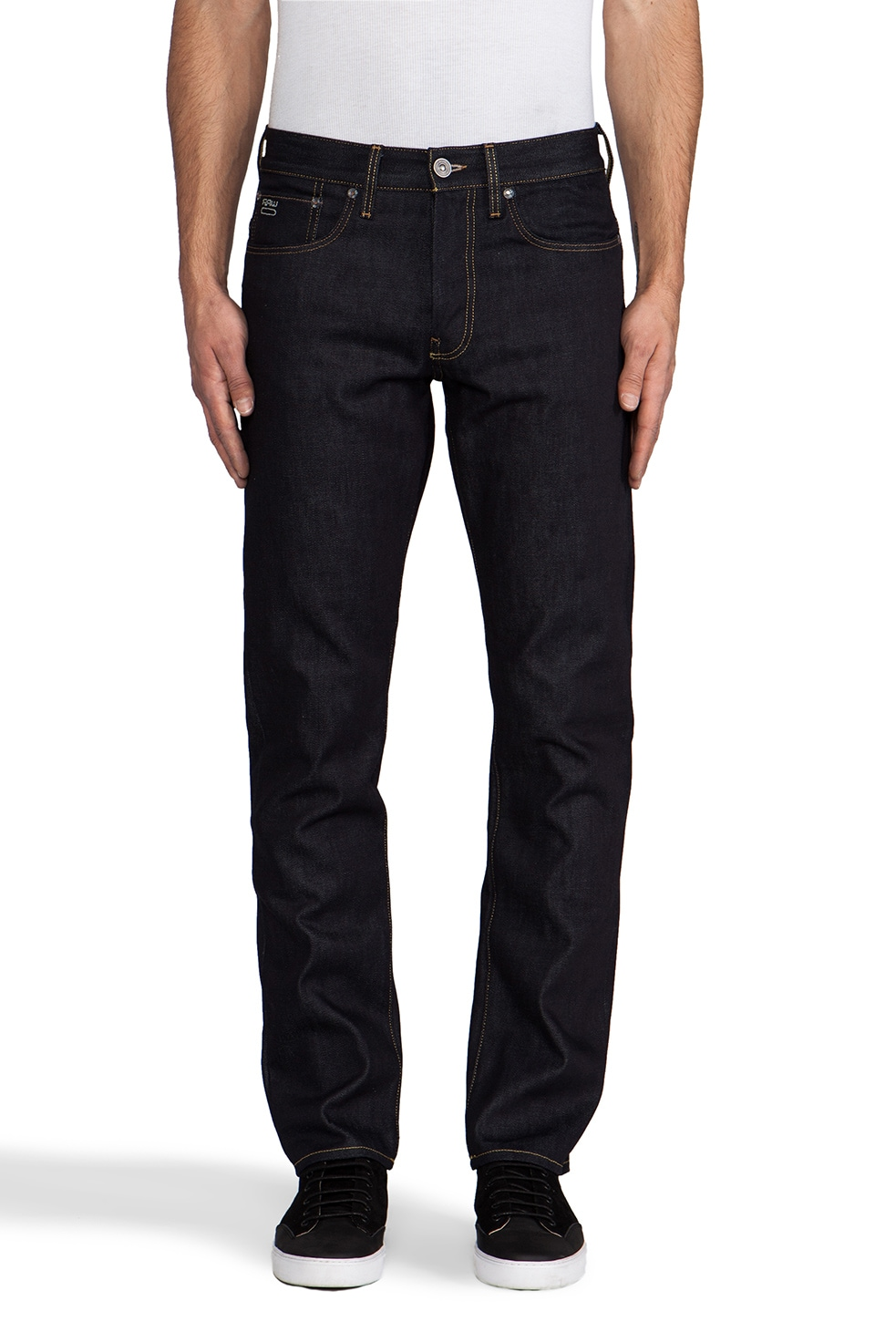 G-Star 3301 Straight in Oxford Denim Raw